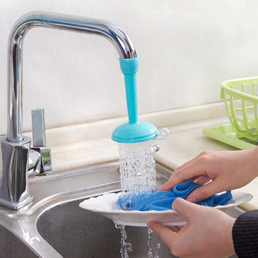 Creative Kitchen Tap Shower Water 360 Rotate Spray Tap Water Filter ...