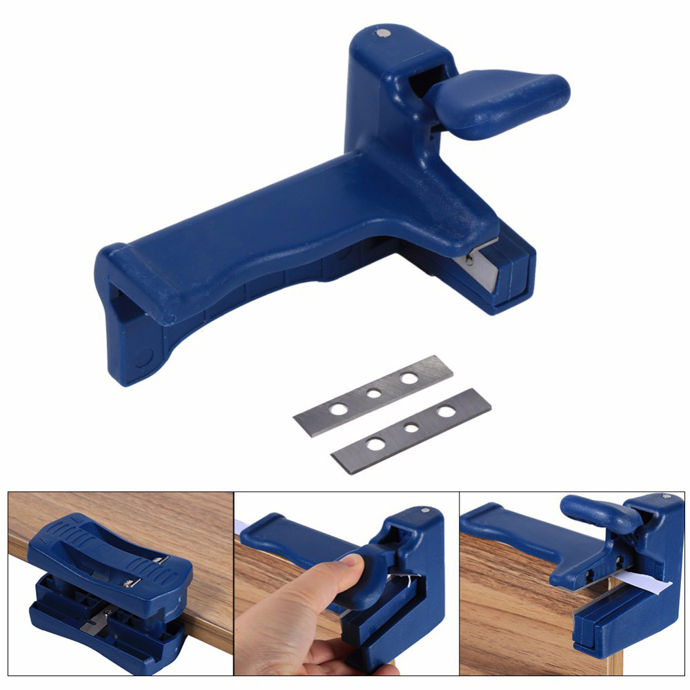 Tail Trimmer Veneer Edge Banding Cutter Plastic PVC Plywood Melamine Wood Manual Edge Banding Machine Woodworking Tool