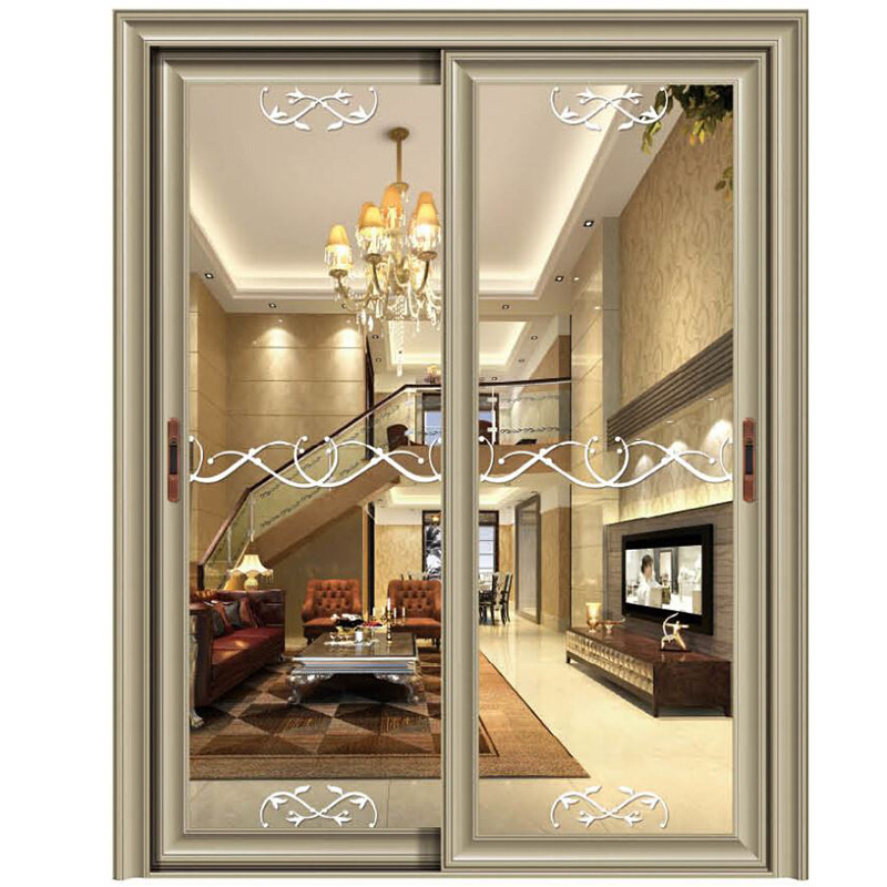 The whole network high end clothing store entity Hotel grocery glass sliding door sliding doors Welcome to wholesale-in Doors from Home Improvement on ...  sc 1 st  AliExpress.com & The whole network high end clothing store entity Hotel grocery ...