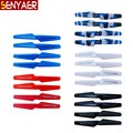 4Pcs/Set Colorful Propellers Blade For Syma X5 X5C X5SC X5SW M68 RC Quadcopter Camouflage Spare Parts Helicopter Accessories