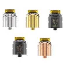 Thunderhead Creations tauren RDA Solo 24mm Rebuildable Dripping Atomizer Single Coil Build Deck vape Tank for mech mod/vape mods(China)