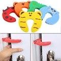 5 pcs New EVA Bebê Protetor de Dedo Batente de Porta Rolha Guarda de Segurança de bloqueio de Crianças para as mãos das crianças dos miúdos do bebê Dedo protetor