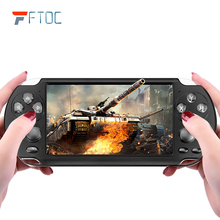 Portable Classic Handheld Game Player TV Video Games Console 128 Bit Real 8GB 5.1 Inch Screen For PSP Game Camera Video MP4 MP5