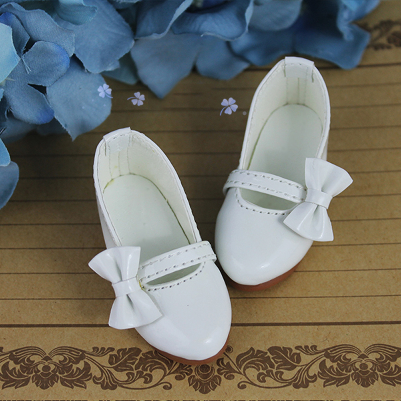 Princess Bowknot 1/3 1/4 Toy Doll Shoes Candy Color SD MSD A10 BJD BJD Shoes For 1/3 1/4 Doll Accessories Toys For Girls Kid
