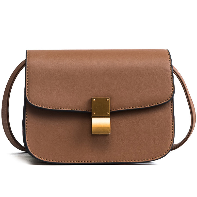 Fashion New PU Leather Women Messenger Handbag Female Brand Designer Shoulder  Crossbody Bag Flap Classic Small Tote Bag Ladies 9af7b751a866