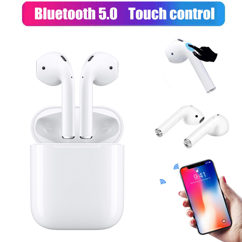 i12 TWS Touch control earphones for Mini 1 1 Air pods Wireless Bluetooth 5 0 headset