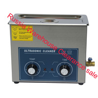 Russia warehouse in stock free shippingPS 30 AC110/220v 180W heater&timer Ultrasonic cleaner 6.0L 40KHZ electronic parts