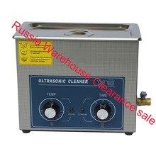 hot sale AC110/220v 180W heater&timer Ultrasonic cleaner bath 6.0L 40KHZ electronic