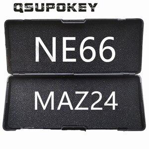 Image 4 - Qsupokey genuíno lishi picareta ferramenta de reparo ferramentas serralheiro va2t ne78 ne66 maz24 sip22 renault hu100 hu66 para carro/automóvel (não 2in1)