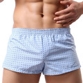 Men Lounge Shorts Underwear Underpant Home Pants Boxers Breathe Casual Pants Sleep Bottoms Free Shipping