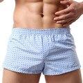Salón de los hombres Pantalones Cortos Ropa Interior Underpant Pantalones Caseros Boxeadores Respirar Casuales Duermen Bottoms Envío Gratis