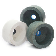 1 piece cup grinding wheel of Brown, white and pink aluminum oxide Green silicon carbide bonded abrasive tools MT029