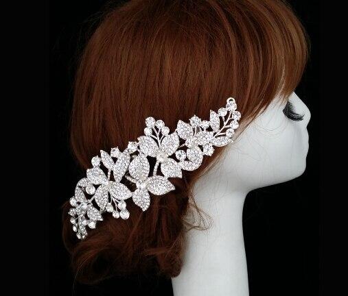 Plus chaud vente de mariée peignes couronne diadèmes pour le mariage femmes  cheveux accessoires 1 pcs