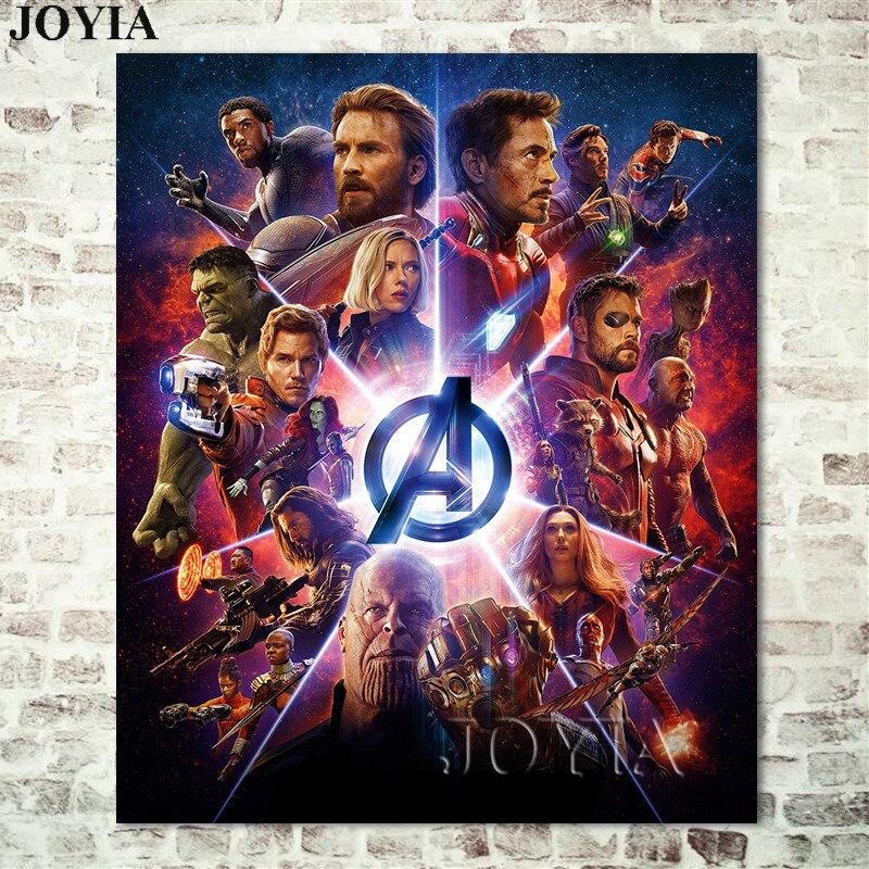avengers infinity war 2018 movie poster superhero marvel comics