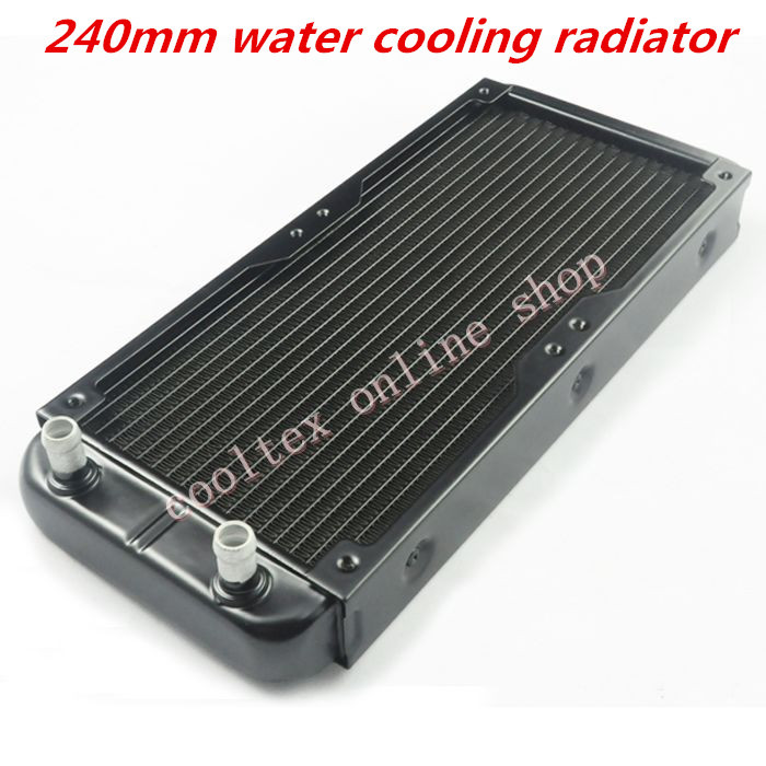 240mm  water cooling radiator for  Chip CPU GPU VGA RAM  Laser cooling cooler  Aluminum Heat Exchanger 20pcs lot 22x22x10mm aluminum heatsink for chip cpu gpu vga ram ic led heat sink radiator cooler cooling