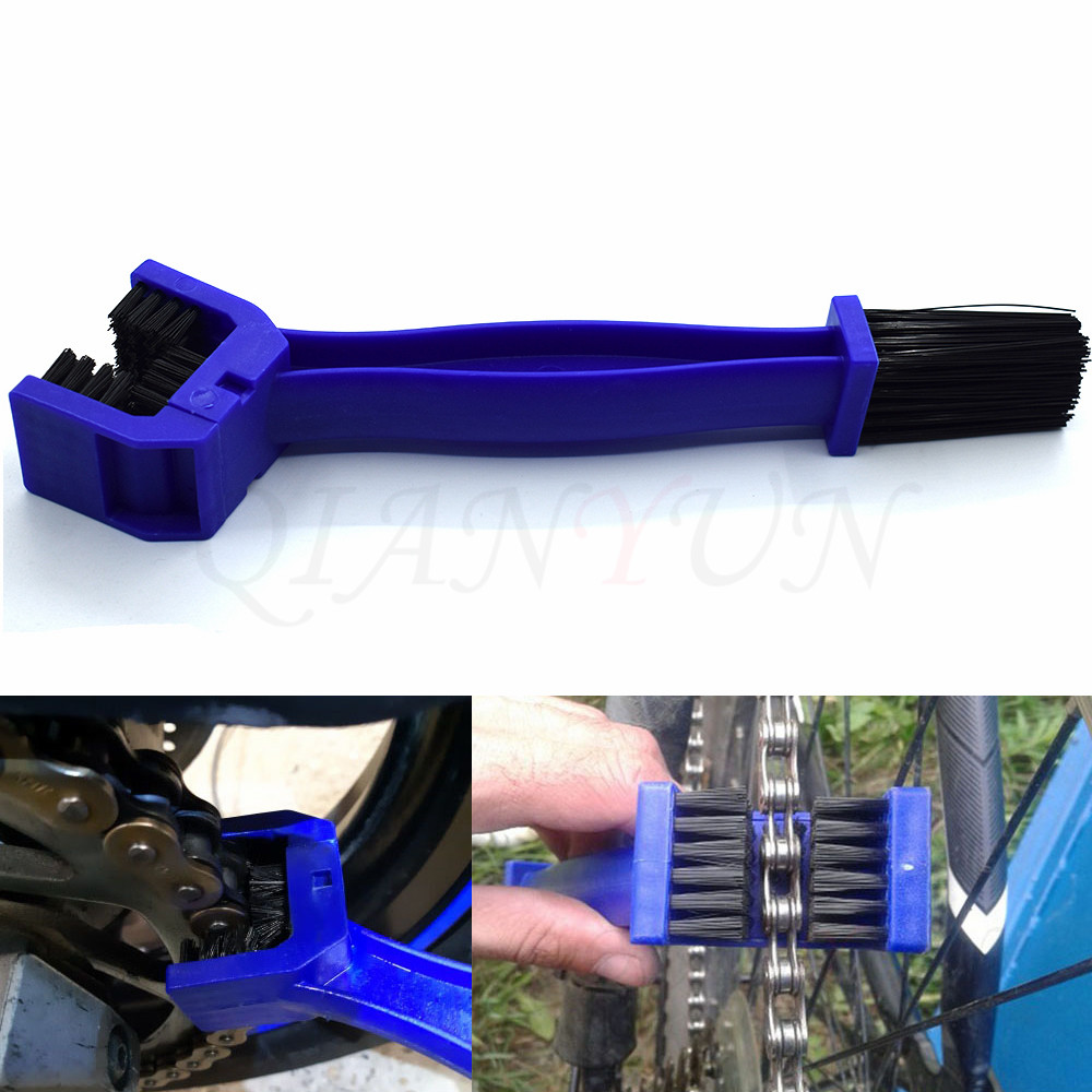 Universal Motorcycle Bicycle Chain Gear Cleaning Brush Scrubber Cleaner Tools for <font><b>Suzuki</b></font> <font><b>GSXR</b></font> 600 750 <font><b>1000</b></font> K1 K2 K3 K4 <font><b>K5</b></font> <font><b>K6</b></font> K7 image