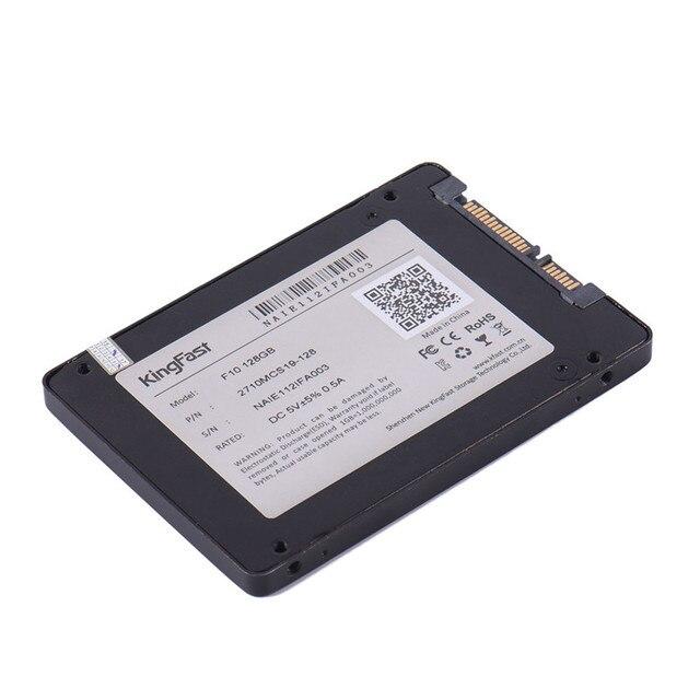 F10 KingFast SSD Жесткий Диск Ноутбука 128 ГБ SATA 3.0 6 ГБ/сек. 2.5 Дюймов Твердотельный Накопитель 7 мм Внутренний SSD Жесткий Диск