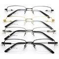 Patrón del nuevo metal de memoria titanium montura de gafas marco de fondo del marco masculinos marco ojo miope