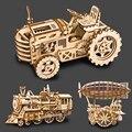 Детские 3D деревянные игрушки  развивающая игрушка-головоломка для автомобиля  грузовика