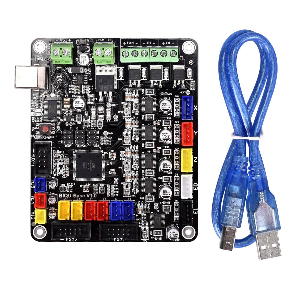 3D Imprimante Conseil BIQU BASE V1.0 Compatible Mega2560 & RAMPS1.4 carte mère RepRap Mendel similaire à MKS BASE V1.5
