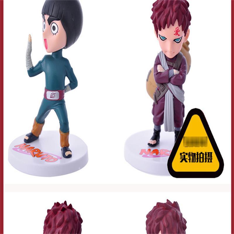 6Pcs 1Set Anime Naruto Action Figure Toys Zabuza Haku Kakashi Sasuke Naruto Sakura PVC Model Collection Kids Toys in Action Toy Figures from Toys Hobbies