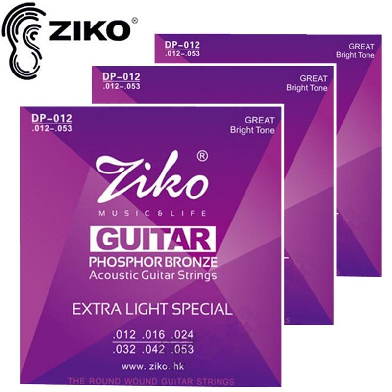 ZIKO DP012 012-053 어쿠스틱 기타 현악기 기타 부품 도매 악기 액세서리 3 세트 / 많은
