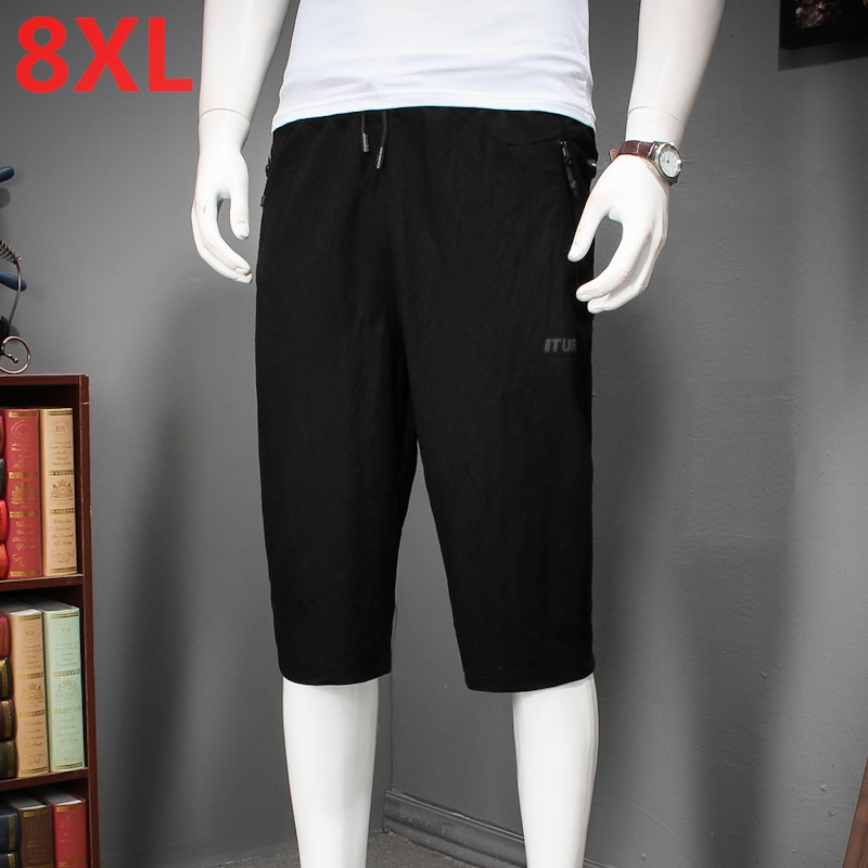 Large size 8XL 7XL Casual Shorts Men Fit 2018 Summer Fashion Breathable Male Brand Clothing Shorts Homme Trousers Big Size