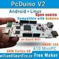 PcDuino V2 с WIFI 1 Г RAM 4 Г Вспышка Совет По Развитию, HDMI Android Linux Ubuntu, Cortex A8 Enhanced Raspberry PI