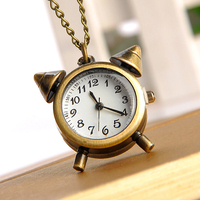 Cindiry quartz pocket watch men women vintage pendant retro bronze pocket watch with chain necklace pocket.jpg 200x200
