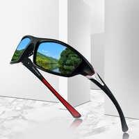 Polarized Night Vision Sunglasses Men's Driving Sun Glasses For Men Square Sport Brand Luxury Mirror Shades Oculos De Sol