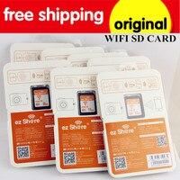 10ชิ้น/ล็อตขายส่งความจุจริงที่ใช้ร่วมกันการ์ดหน่วยความจำชั้น10 WIFI SDบัตร32กิกะไบต์SDHC WIFIหน่วยควา...