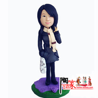 2014 Direct Selling Brinquedos Wedding Toys Anime Personalized Custom Polymer Clay Doll From Pictures Christmas Gift