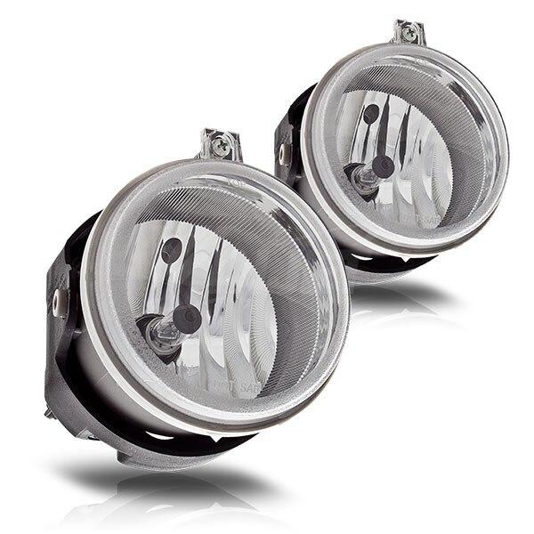 Case for Dodge Nitro 2008 2010 fog light Halogen fog lamp car light assembly bulb H10