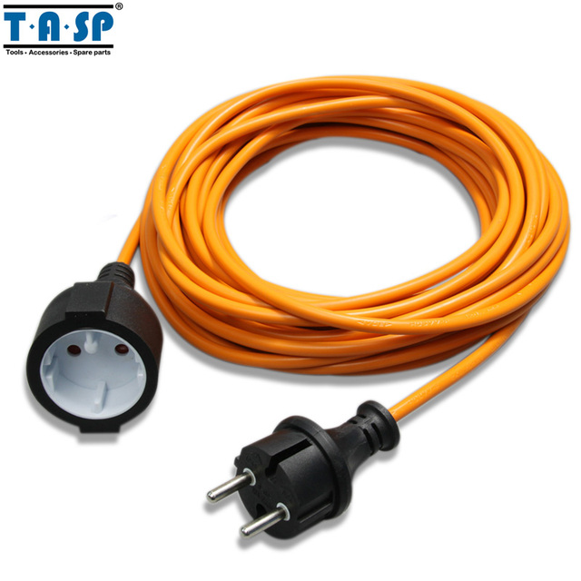 TASP 10m VDE Extension Cable Cord Outlet Wire Plug Outdoor Garden Power  Tool Accessories