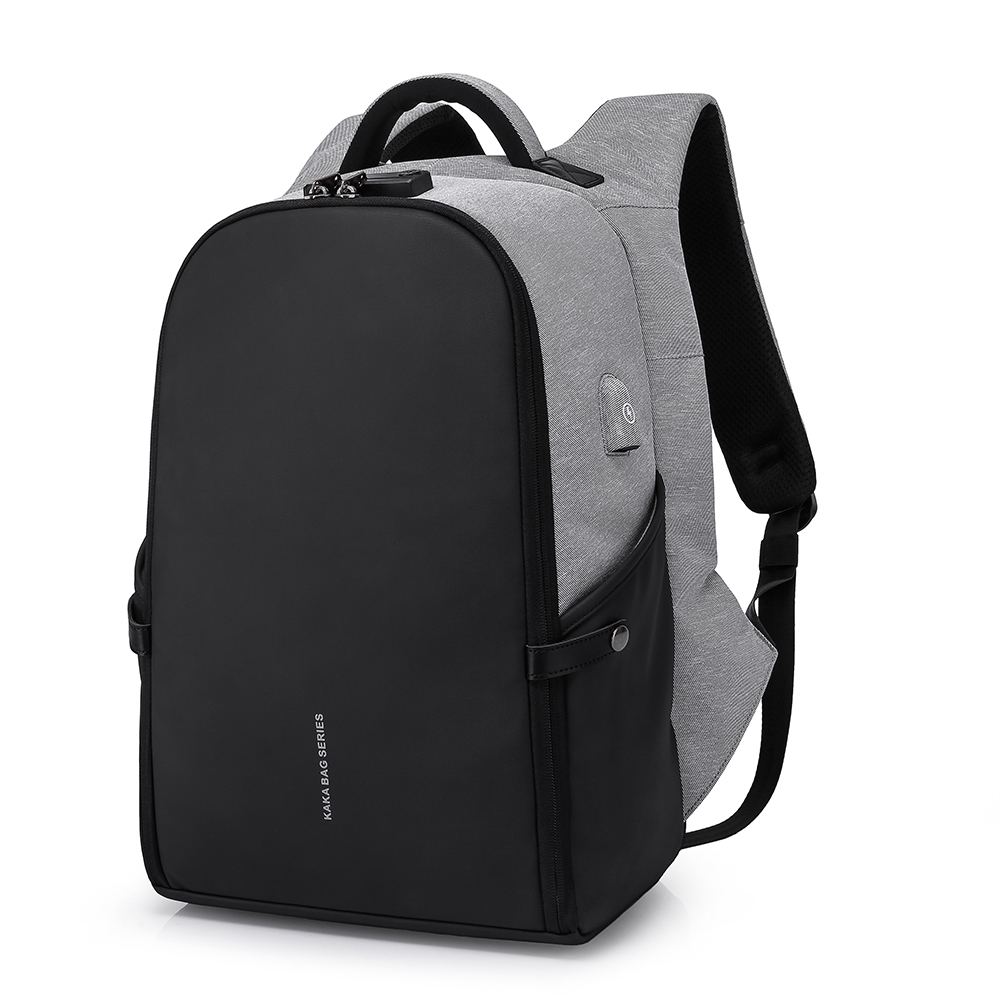 KAKA New Arrival Fashion High Quality USB Anti Theft Backpack Mochila Fit 15.6inch Laptop for Travel Free Shipping