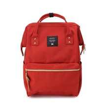 600D Oxford waterproof A Ring School Backpacks Women ane men