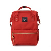 600D Oxford waterproof A Ring School BackpacksFor Women Lightweight Ring Backpack For College Bag and youth bag