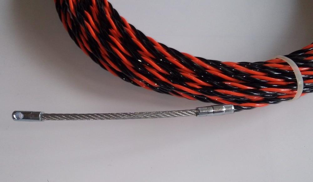 Extractor de cable de nylon de 6 mm y 30 m, cinta de pescado, varilla - Juegos de herramientas - foto 3
