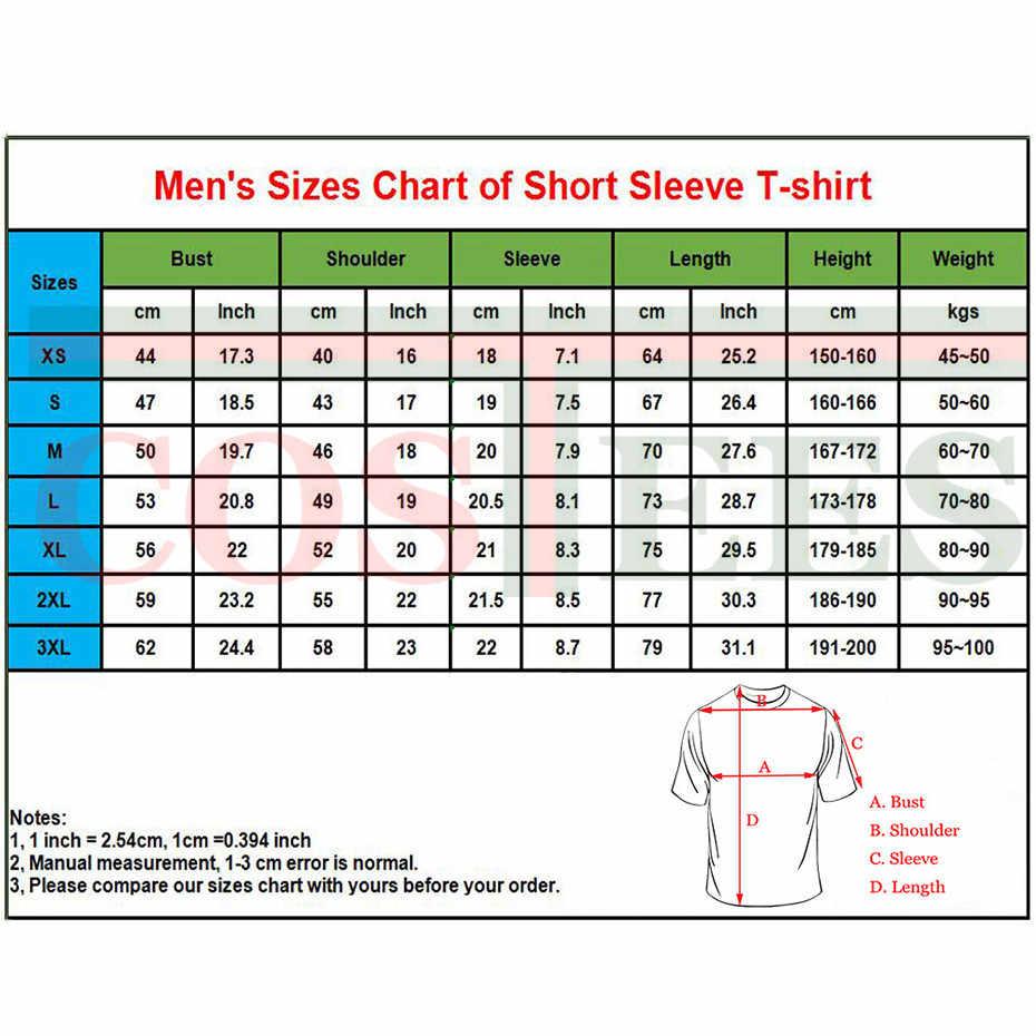 2019 Stranger Dingen Geleidelijk veranderende kleur grafische Print T shirts mannen brief gedrukt T-shirt hombre tee shirt camiseta tshirt