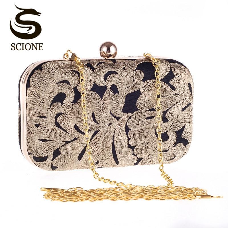 Naujas atvykimas ponios aukso vakaro maišelis krištolo sankabos grandinės krepšiai aukštos kokybės deimantiniai vestuvių krepšiai nemokamai pristatymas gėlių sankaba CJ20