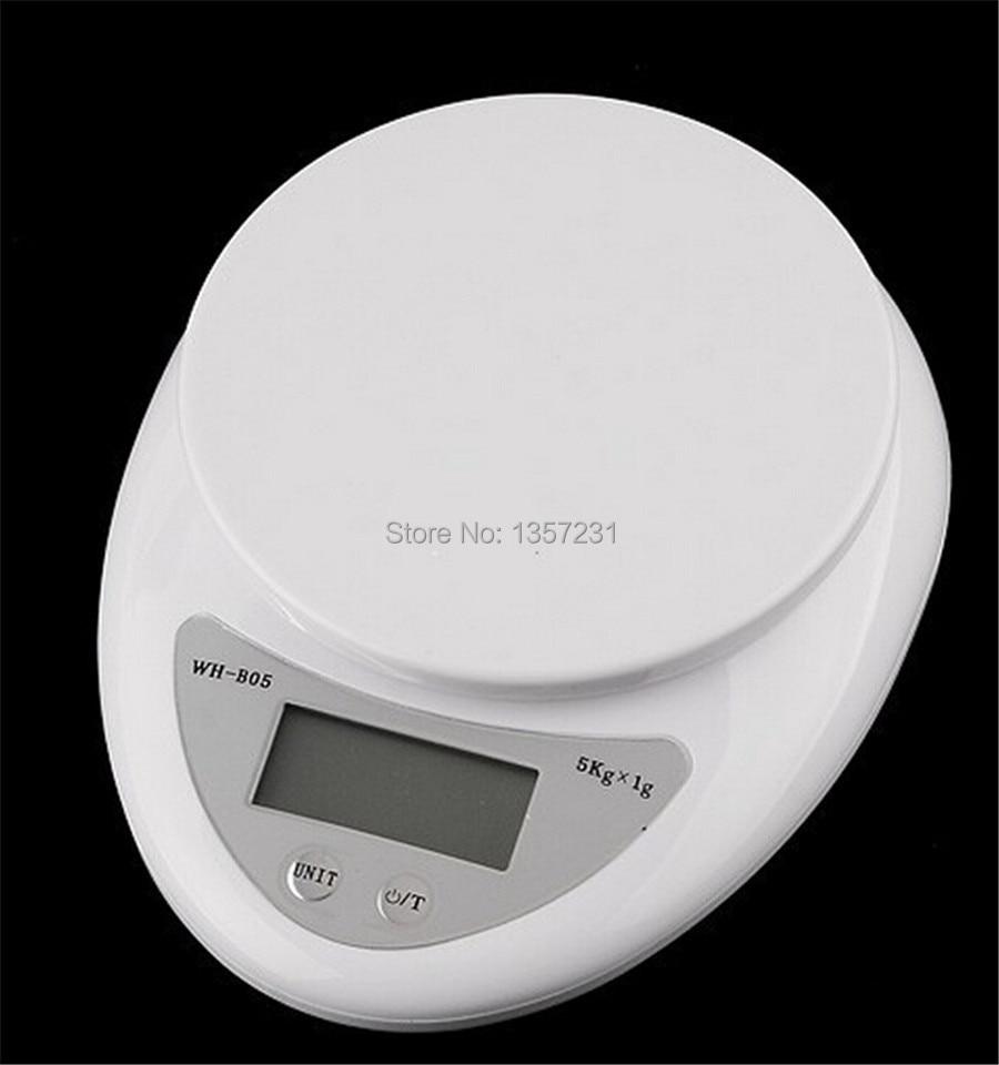 300 шт./лот 5 кг Цифровой Еда Диеты Почтовый шкале баланс