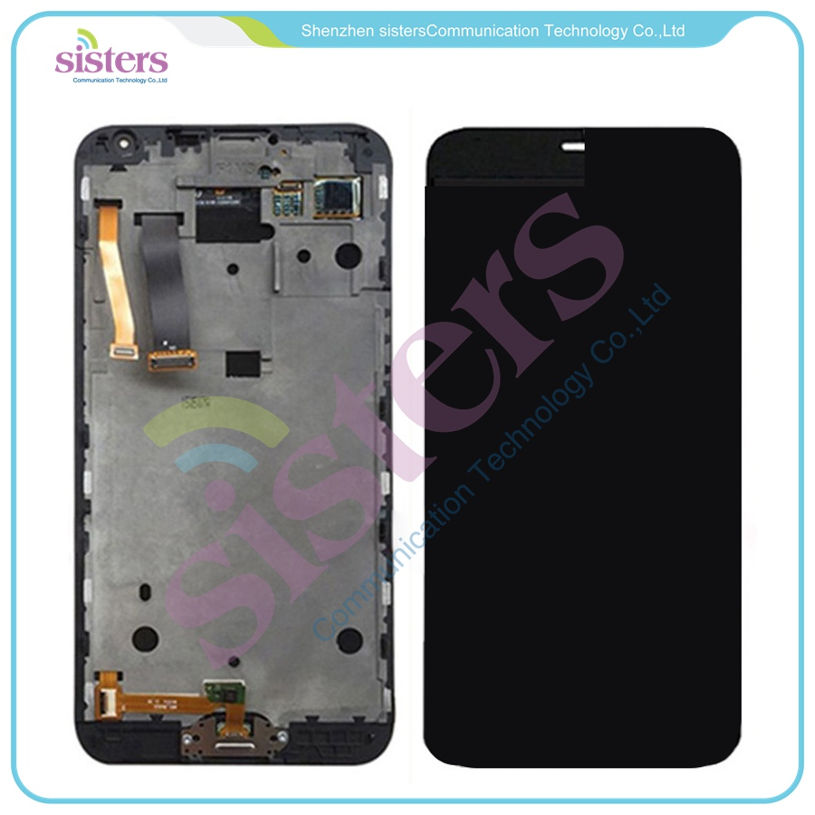 Negro Blanco para Meizu MX5 MX 5 LCD pantalla táctil digitalizador montaje completo con marco