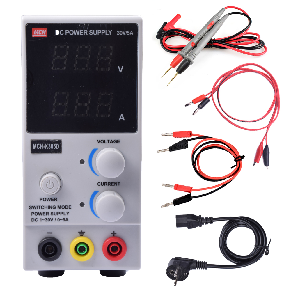 k305dAdjustable Variable Portable Mini DC Switching Power SupplyVoltage Regulators 30V 5A Switch0-30v 0-5a si2306 a6shb sot23 3 5a 30v