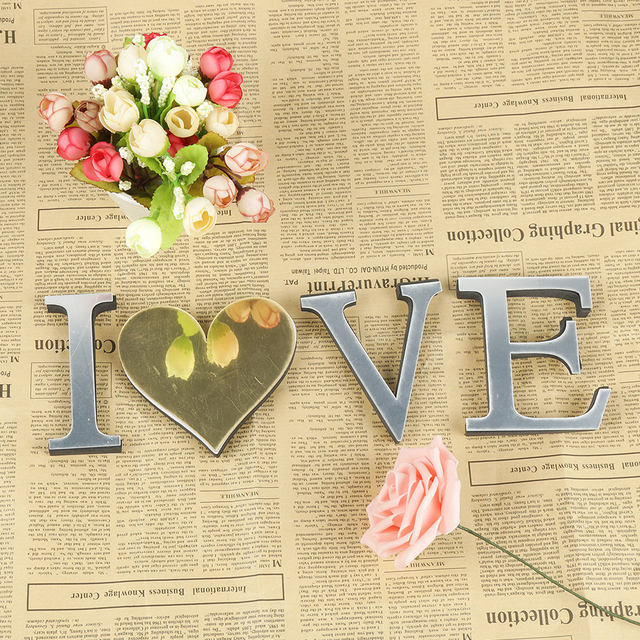 Beautiful Love Letters Wall Art Image Collection - Wall Art Design ...