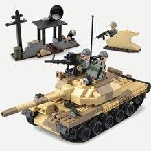 GUDI UNIÃO SOVIÉTICA T-62 Tanques de Batalha Principal Modelo de Blocos de Construção de Brinquedos Militares Do Exército Soldados Com Armas Acessórios Tijolos brinquedos 372 pcs