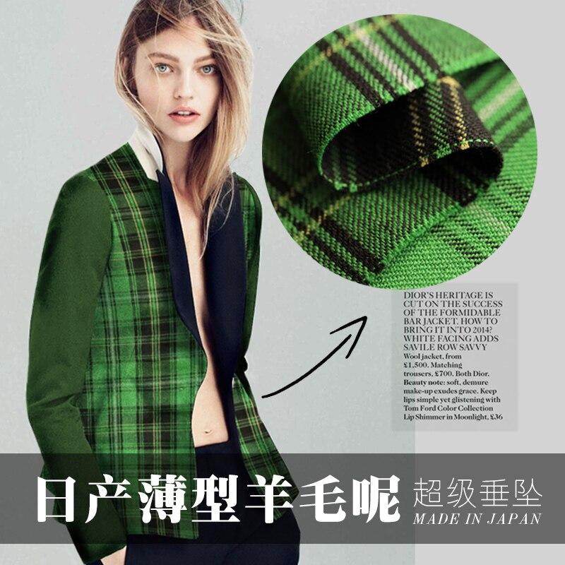 b8183d7da4 Frete Grátis! clássico da manta de lã tecidos de lã pano de lã casaco de lã  tecidos de alta qualidade por atacado