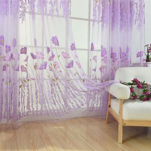 Tulle Curtains For The Kitchen