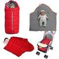 Algodão Amassado Bebê Carrinho De Saco De Dormir Para Crianças Saco De Dormir De Inverno Saco de Dormir Do Bebê Carrinho De Criança Almofada Do Assento À Prova D' Água SD03