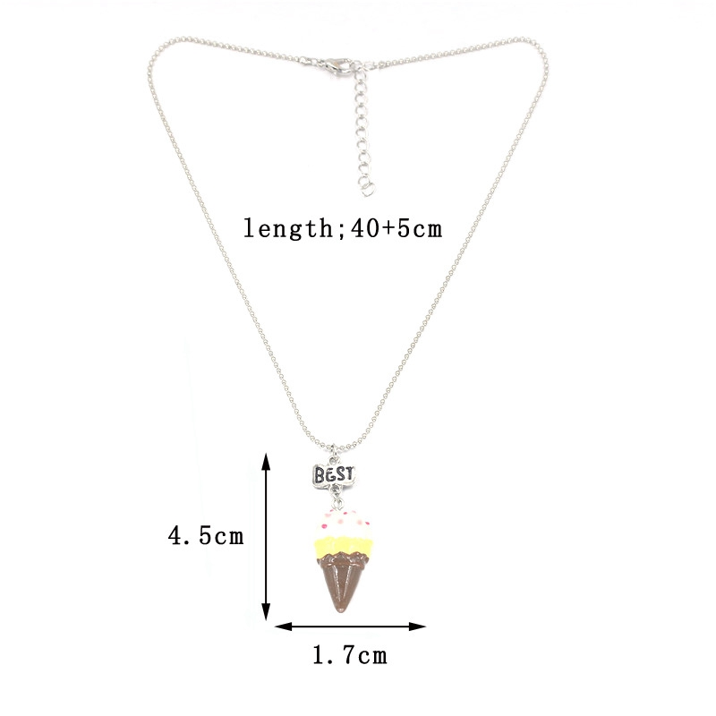 2PCS-Set-Best-Friends-Ice-Cream-Children-Necklaces-Kids-Stereo-soft-simulation-Imitation-Cake-Necklace-N803 (1)
