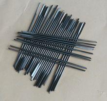 цена на 14pcs 0.7-1.5mm Center Drill Bits Double Head Jade Pearl Drilling Bit Tungsten Steel Drill Bit Triangular Bit Punch Drill Needle
